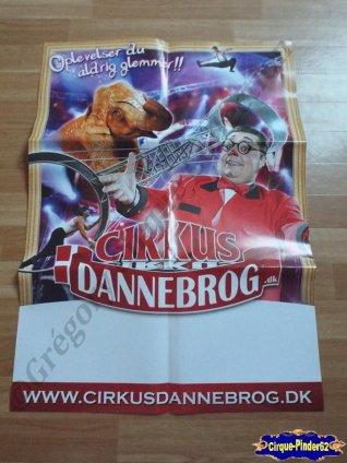 Affiche murale du Cirkus Dannebrog (n°529)