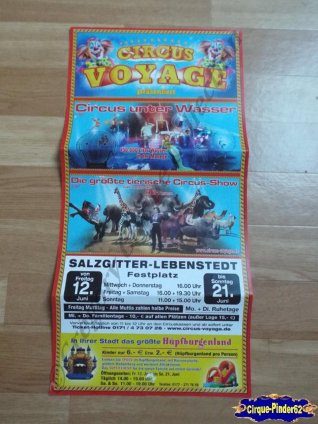 Affiche magasin du Circus Voyage-2015 (n°510)
