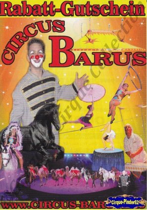 Flyer du Circus Barus-2015 (n°1039)