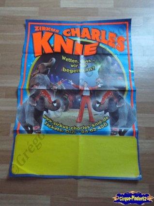 Affiche murale du Cirque Knie (Charles) (n°532)