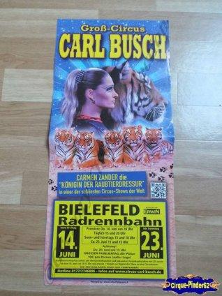 Affiche magasin du Cirque Busch (Carl)-2013 (n°512)