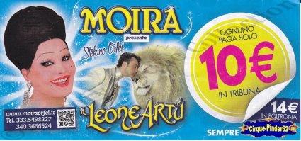 Flyer du Cirque Orfei (Moira)-2015 (n°1029)