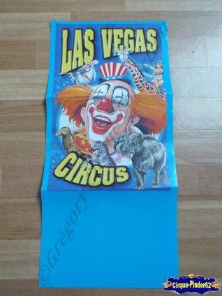 Affiche magasin du Las Vegas Circus (n°527)
