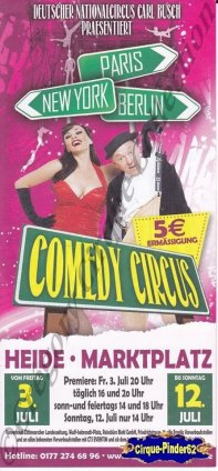 Flyer du Comedy Circus-2015 (n°1043)