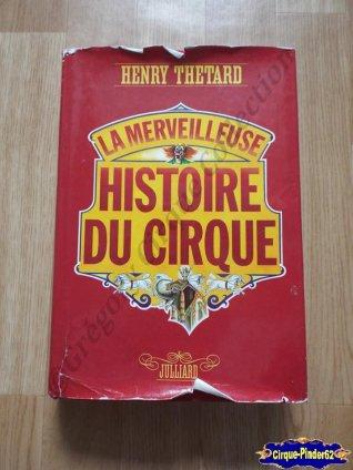 """Livre """"La Merveilleuse Histoire du Cirque"""""""