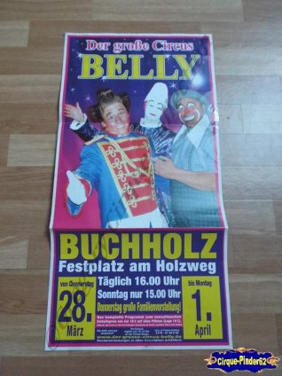 Affiche magasin du Cirque Belly (Circus Belly)-2013 (n°526)