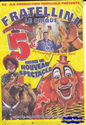 Flyer du Cirque Fratellini (Sabrina)-2015 (n°1066)