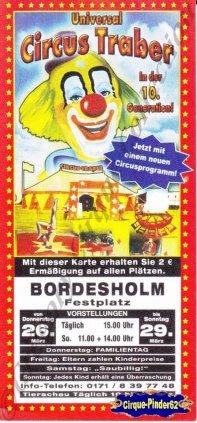 Flyer du Circus Traber (n°1030)