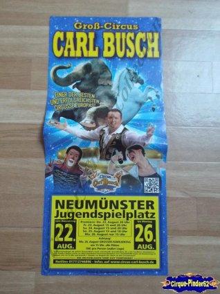 Affiche magasin du Cirque Busch (Carl)-2013 (n°517)