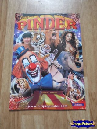 Programme du Cirque Pinder-2009 (n°97)
