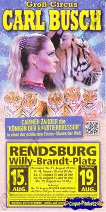 Flyer du Cirque Busch (Carl)-2013 (n°1049)