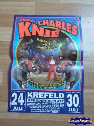 Affiche magasin du Cirque Knie (Charles)-2012 (n°524)