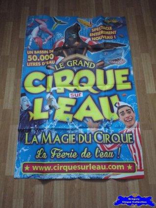 Affiche murale du Grand Cirque sur l'Eau-2016 (n°592)