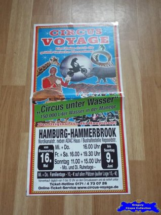 Affiche magasin du Circus Voyage-2013 (n°643)