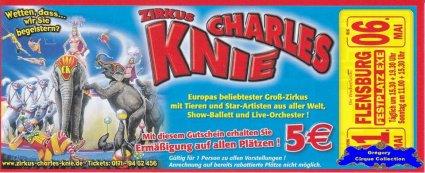 Flyer du Cirque Knie (Charles)-2012 (n°1323)