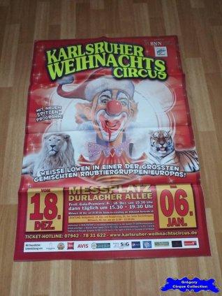Affiche murale du Cirque de Noël (Karlsruher Weihnachtscircus)-2015/2016 (n°658)