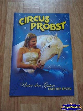 Programme du Cirque Probst (Circus Probst)-2011 (n°96)