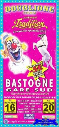 Flyer du Cirque Bouglione (Firmin)-2015 (n°1182)