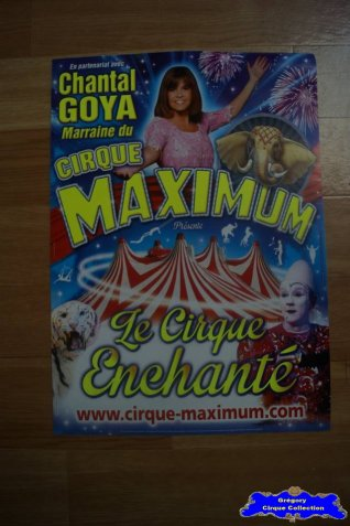 Affiche magasin du Cirque Maximum-2015 (n°536)