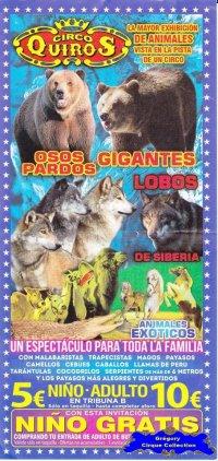 Flyer du Circo Quiros-2015 (n°1107)