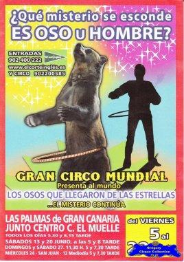 Flyer du Gran Circo Mundial-2009 (n°1154)
