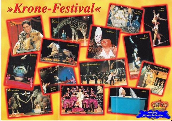 Flyer du Circus Krone-2001 (n°1087)