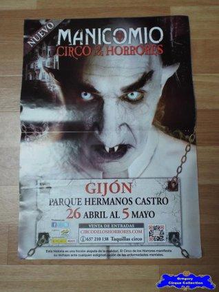 Affiche magasin du Circo de Los Horrores-2013 (n°551)