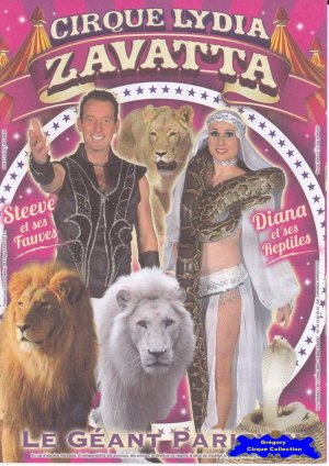 Flyer du Cirque Zavatta (Lydia)-2015 (n°1079)