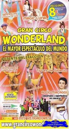 Flyer du Gran Circo Wonderland-2013 (n°1112)