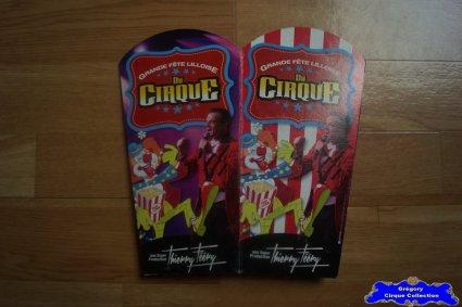 Sachet de pop corn de La Grande Fête Lilloise du Cirque