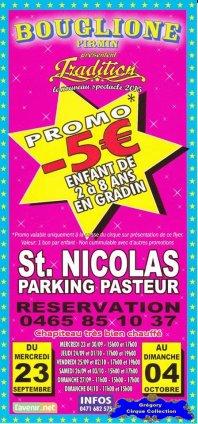 Flyer du Cirque Bouglione (Firmin)-2015 (n°1183)