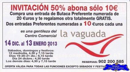 Flyer du Gran Circo Mundial-2012/2013 (n°1153)