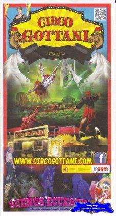 Flyer du Circo Gottani-2015 (n°1147)