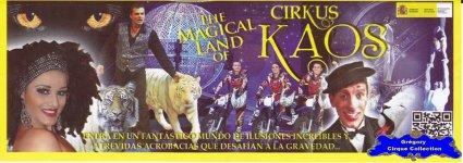 Flyer du Cirkus Kaos-2014 (n°1132)