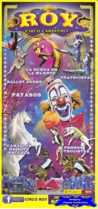 Flyer du Cirque Cardinali (Roy)-2013 (n°1142)