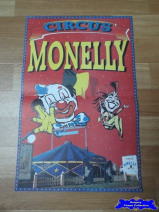Affiche magasin du Circus Monelly (n°561)