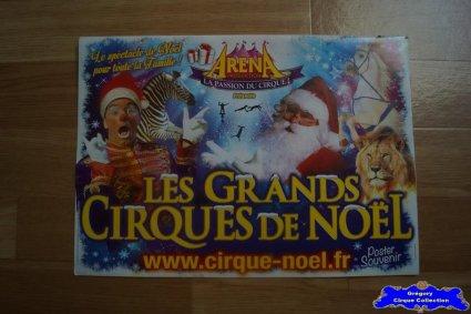 Programme du Cirque de Noël (Arena Production)-2014 (n°103)