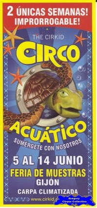 Flyer du Circo Acquatico (n°1150)