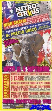 Flyer du Cirkus Kaos-2015 (n°1095)