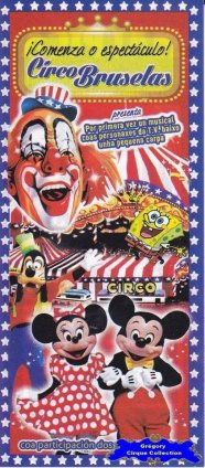 Flyer du Circo Bruselas (n°1134)