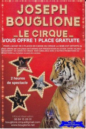 Flyer du Cirque Bouglione (Joseph)-2014 (n°1237)