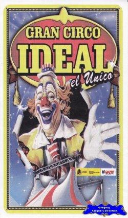 Flyer du Gran Circo Ideal-2015 (n°1144)