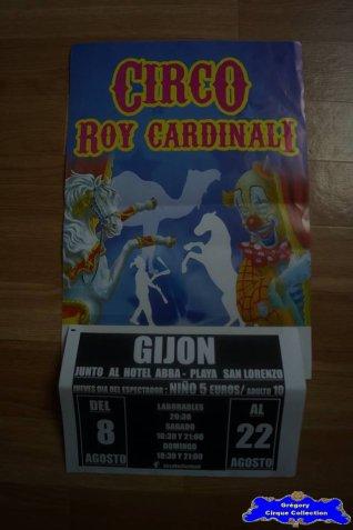 Affiche magasin du Cirque Cardinali (Roy) (n°539)