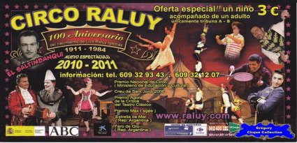 Flyer du Cirque Raluy-2011 (n°1133)