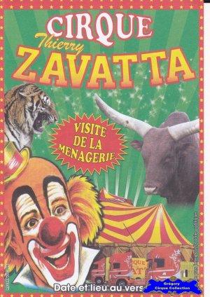 Flyer du Cirque Zavatta (Thierry) (n°1071)
