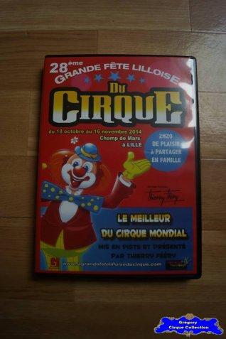 Dvd de La Grande Fête Lilloise du Cirque-2014