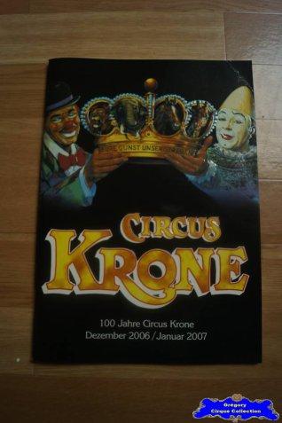 Programme du Circus Krone-2006/2007 (n°109)