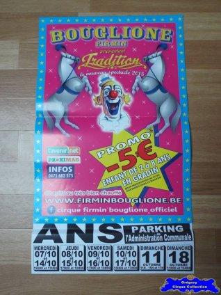 Affiche magasin du Cirque Bouglione (Firmin)-2015 (n°558)