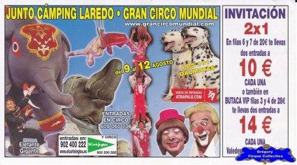Flyer du Gran Circo Mundial-2014 (n°1151)