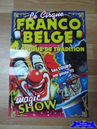 Affiche magasin du Cirque Franco Belge-2015 (n°557)